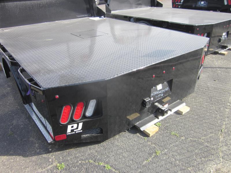 2017 PJ Trailers TB GB 94/94/60/34 SD 2RTB Truck Bed