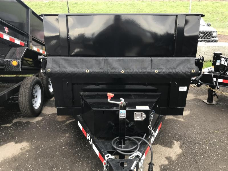 2019 PJ Trailers 10X60 Utility Dump (D5) Dump Trailer