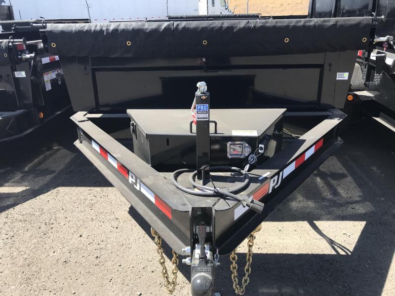 2019 PJ Trailers 12X83 Low-Pro Dump