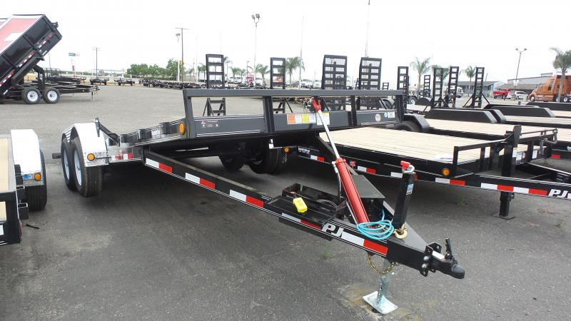 "2019 PJ Trailers 20X83"" Hydraulic Quick Tilt Trailer"