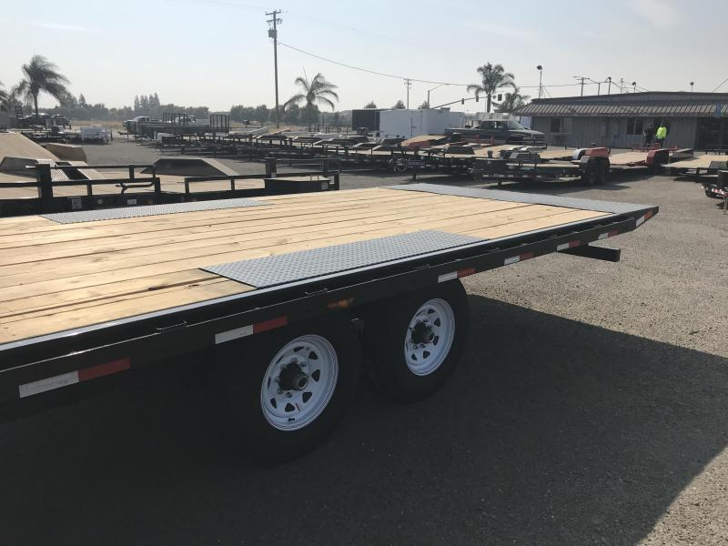 2019 PJ Trailers 20' Medium Duty Deckover 6 in. Channel (L6) Flatbed Trailer