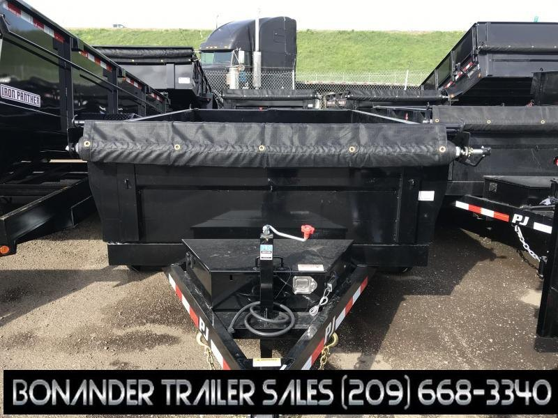 2019 PJ Trailers 12X72 Tandem Axle Dump (D3) Dump Trailer