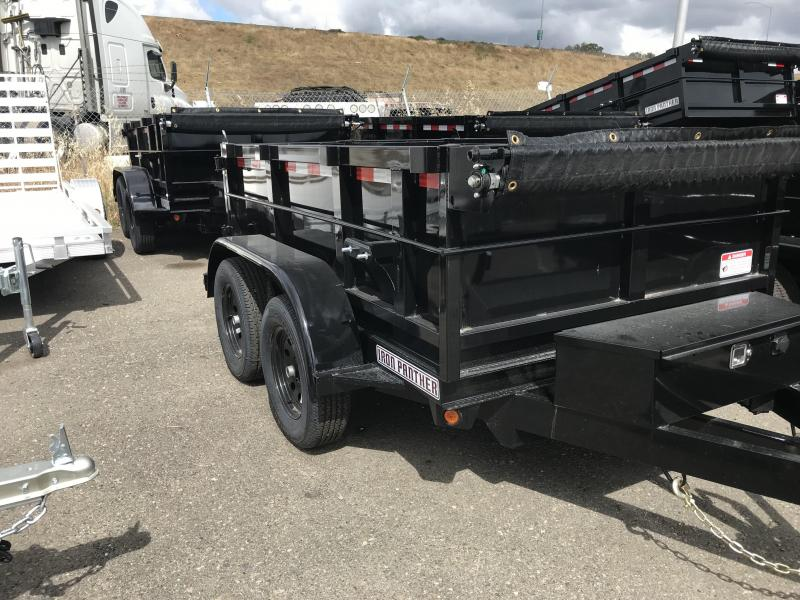 2019 Iron Panther 5X10X2 Dump Trailer