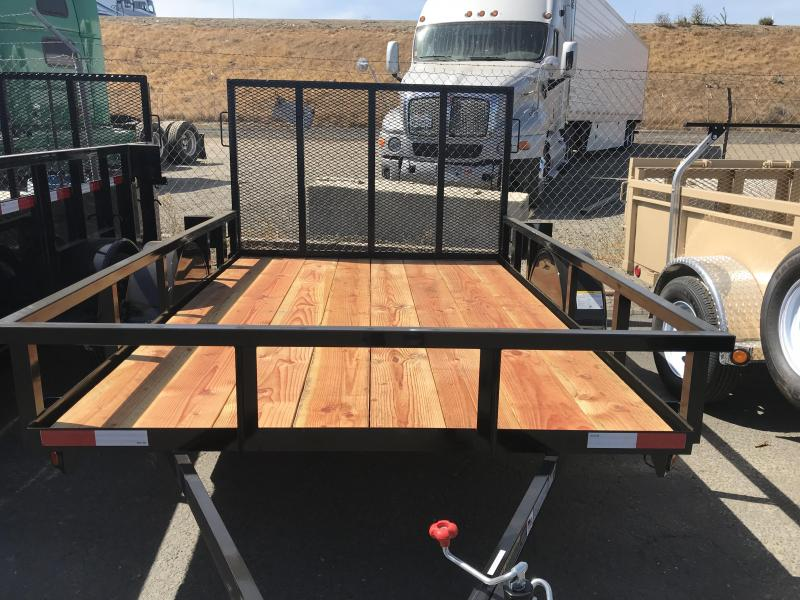 2019 Iron Panther 6.5X10 Utility Trailer