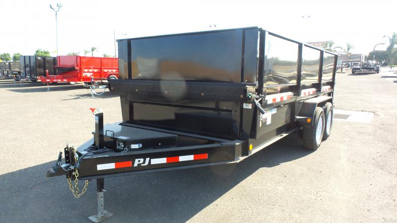 2019 PJ Trailers 16X83 Low-Pro XL Dump