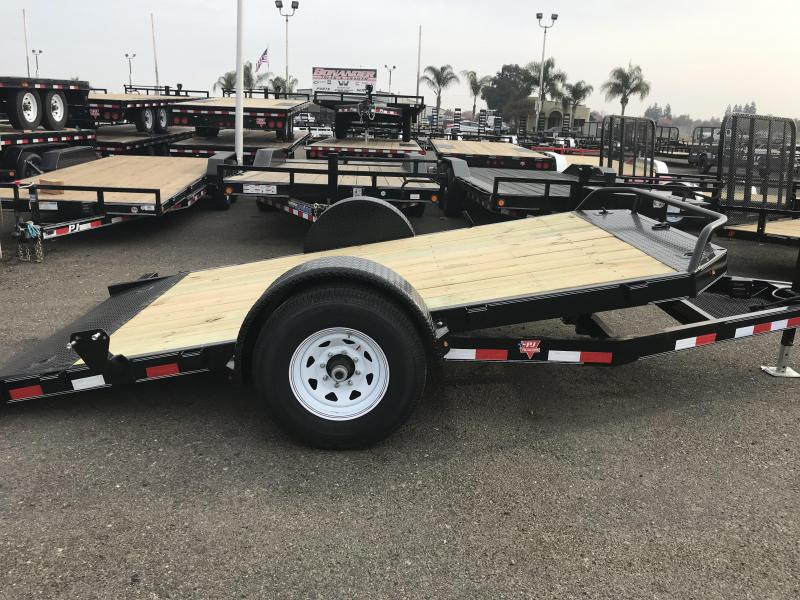 2019 PJ Trailers 13' Single Axle HD Tilt (T1) Equipment Trailer