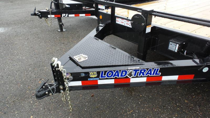 2018 Load Trail 102X20 Tandem Stanard Pintle Hook