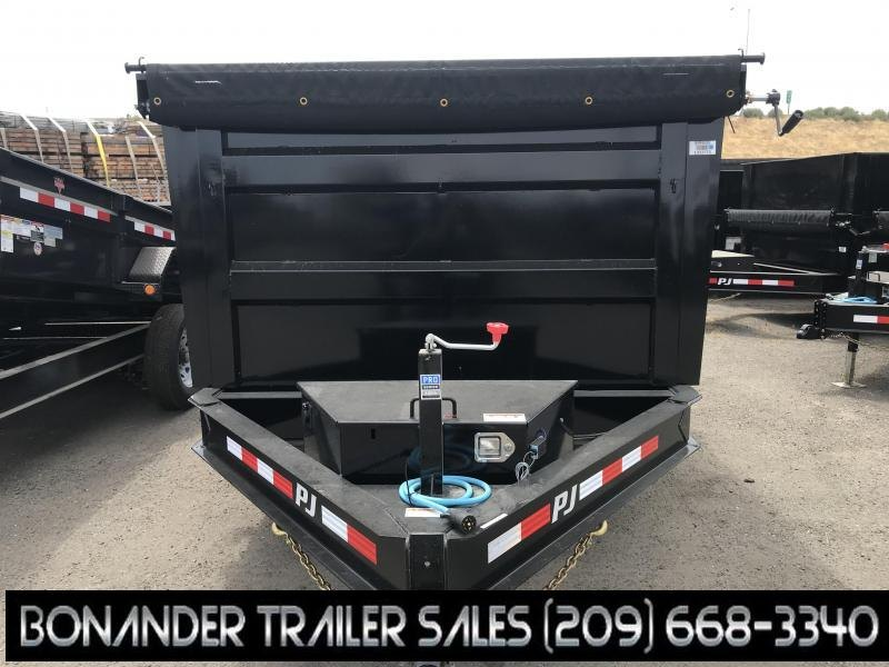 2020 PJ Trailers 12X83 Low Pro High Side Dump (DM) Dump Trailer