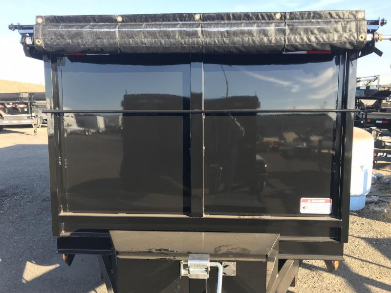 2019 Iron Panther 6X12X4 Dump Trailer
