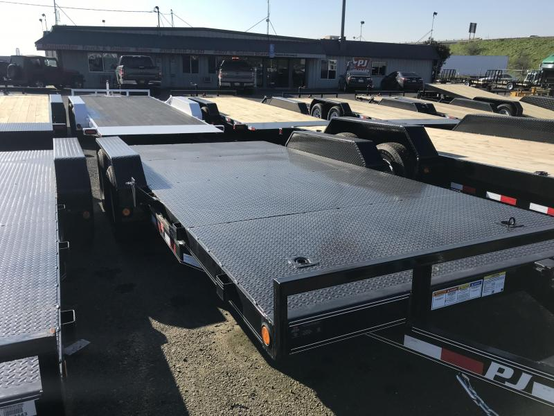 2019 PJ Trailers 18X5 CHANNEL CARHAULER