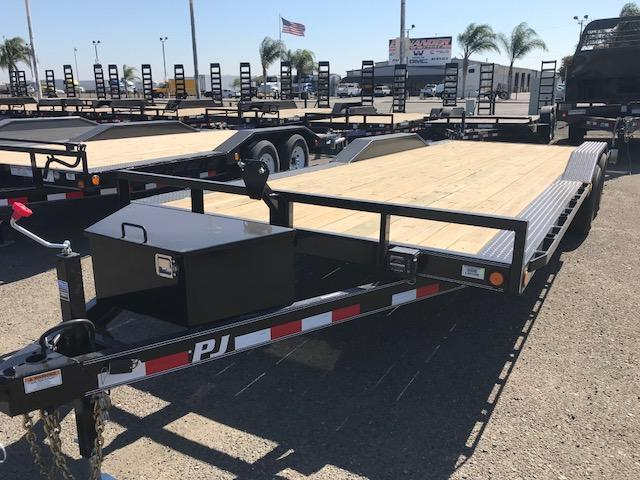 2019 PJ Trailers 22X5 Channel Buggy Hauler