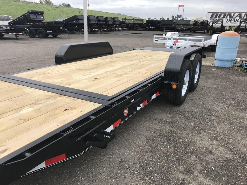 2019 PJ Trailers 20X6 in. Channel Equipment Tilt (T6) Car / Racing Trailer