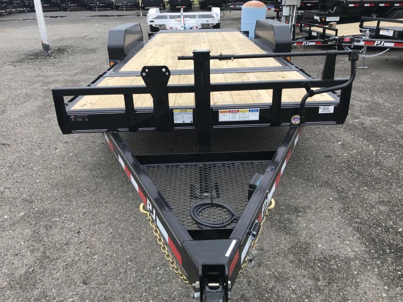 2019 PJ Trailers 20X6 in. Channel Equipment Tilt (T6) Car / Racing Trailer