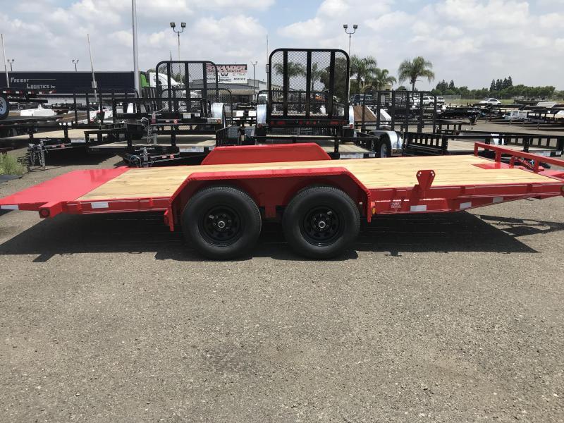 2019 PJ Trailers 18X83 Hydraulic Quick Tilt (TH) Equipment Trailer