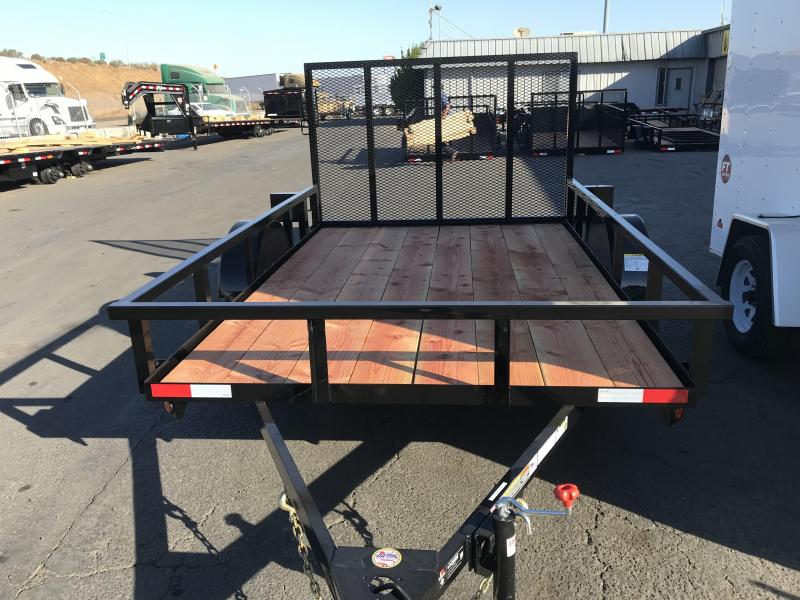 2019 Iron Panther 6.5X12 Utility Trailer