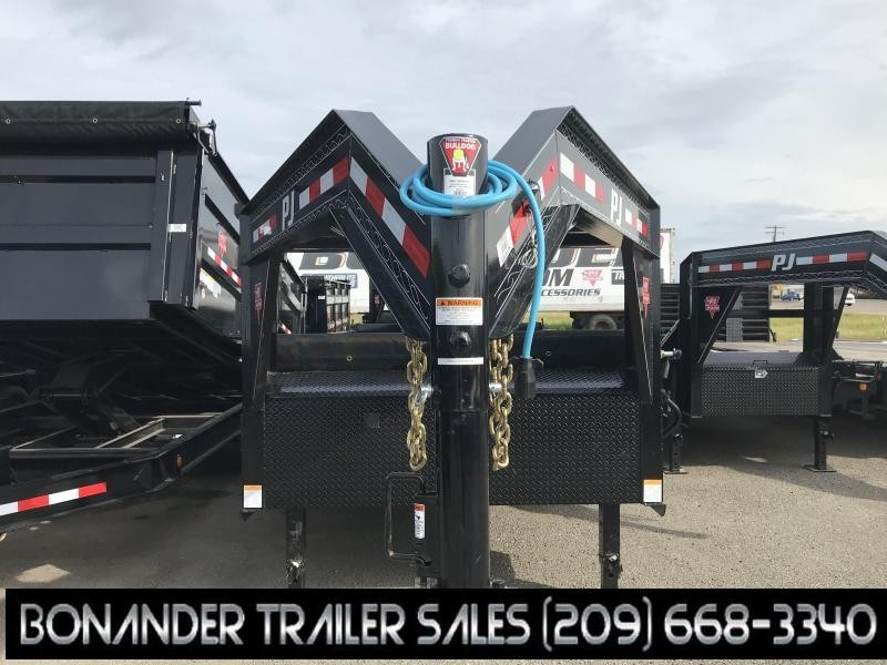 2019 PJ Trailers 14X83 Low Pro Dump (DL) Dump Trailer