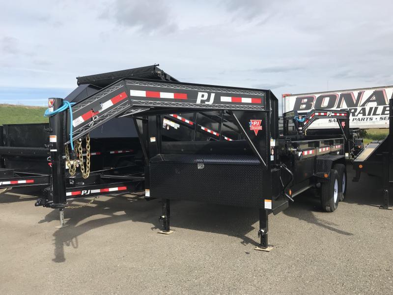 2019 PJ Trailers 14X83 Low Pro Dump (DL) Dump Trailer