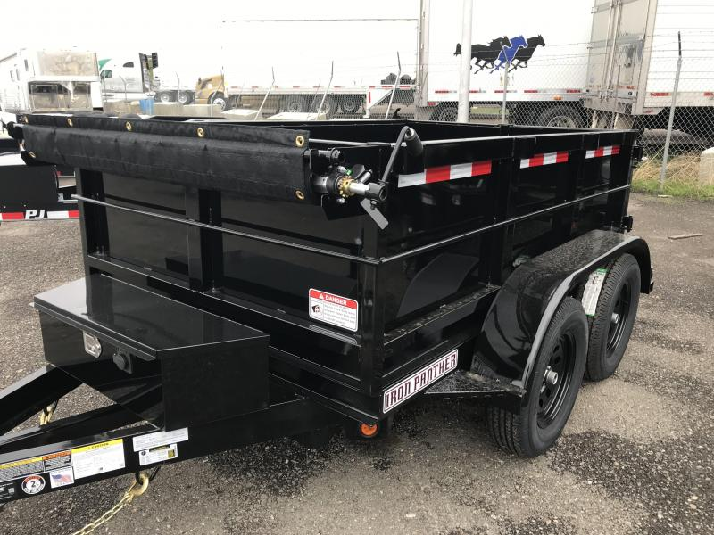 2019 Iron Panther 5X8X2 Dump Trailer