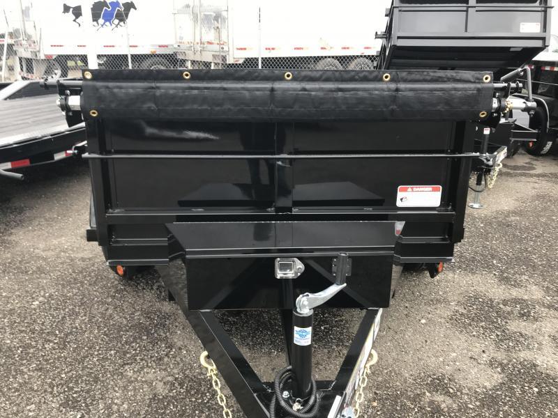 2019 Iron Panther 5X8X2 Dump Trailer