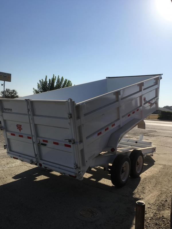 2018 PJ Trailers 16X83 Low Pro XL High Side Dump