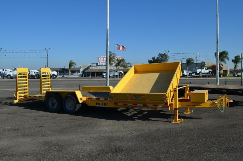 2007 Big Lug Trailers CT2314FSD Dump Trailer
