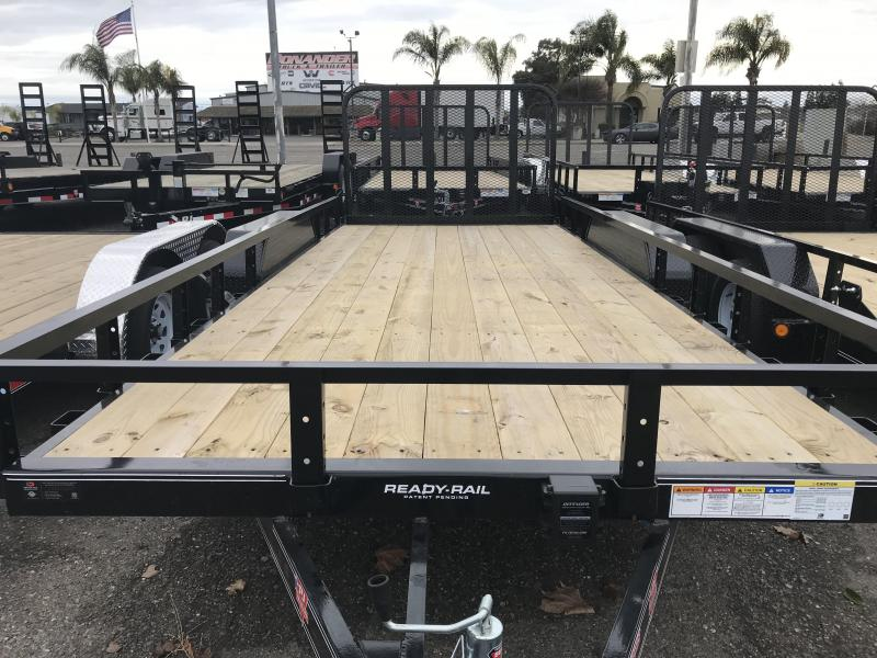 2019 PJ Trailers 83 in. Tandem Axle Channel Utility Trailer