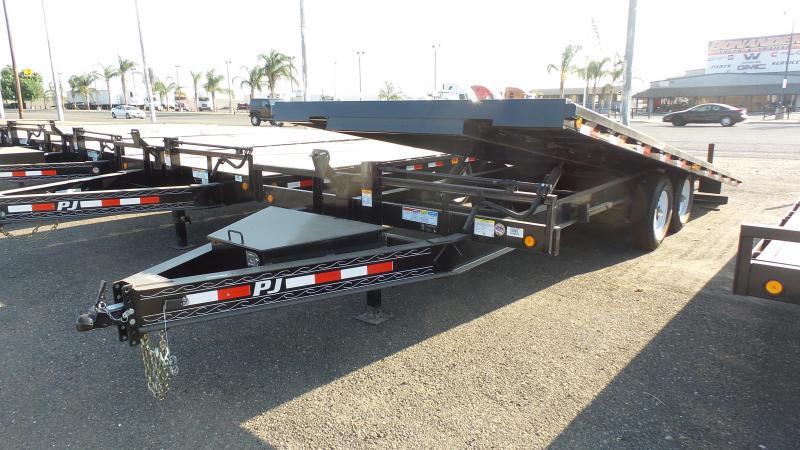 2019 PJ Trailers Deckover Tilt (T8) Car / Racing Trailer