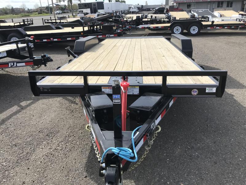 2019 PJ Trailers 20X 83 in. Hydraulic Quick Tilt (TH) Car / Racing Trailer