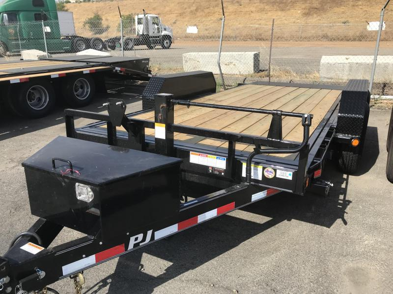 2019 PJ Trailers 16X6 Channel Equipment Tilt