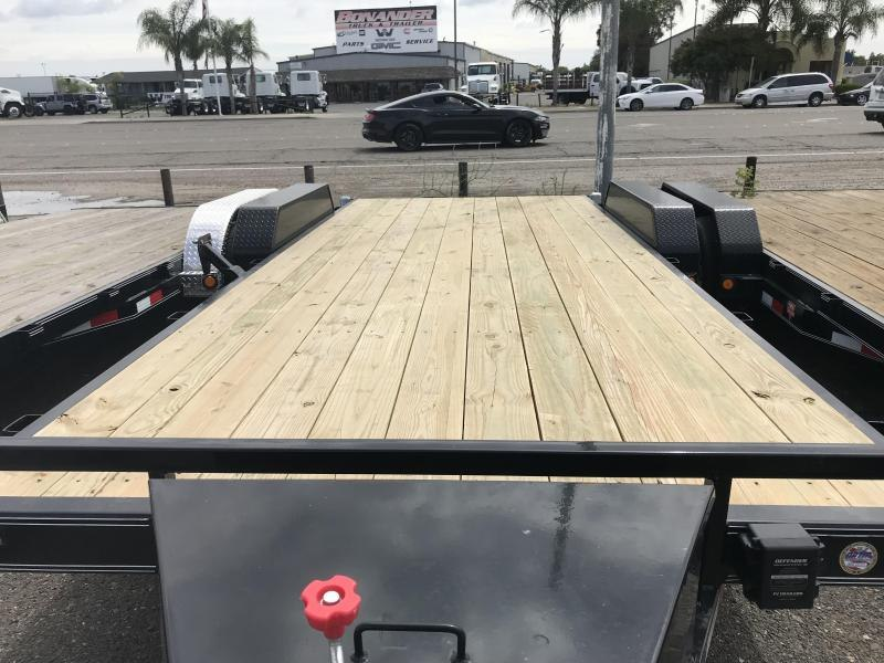 2019 PJ Trailers 20'X5 Channel Equipment (CE) Equipment Trailer