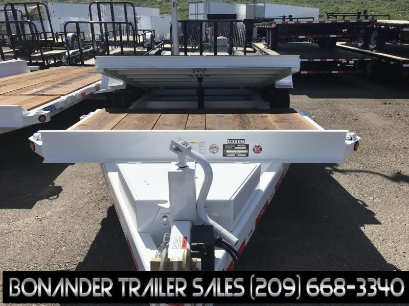 2019 TrailMax T-16-UT (4+16) Flatbed Trailer