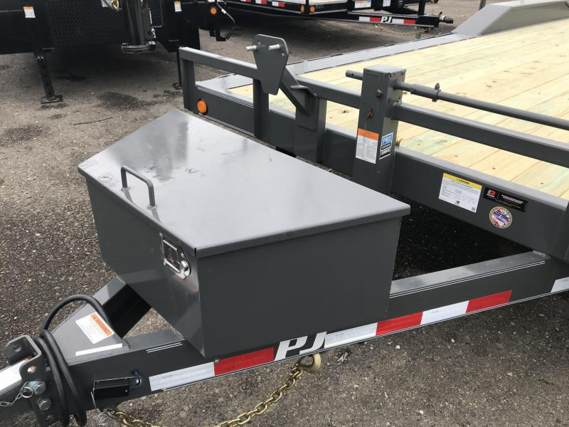 2019 PJ Trailers 22X6 Channel Super-Wide (B6) Car / Racing Trailer