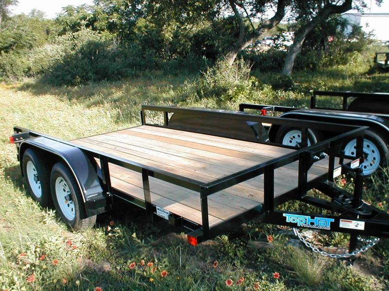 Top Hat Trailers 12EA Utility Trailer