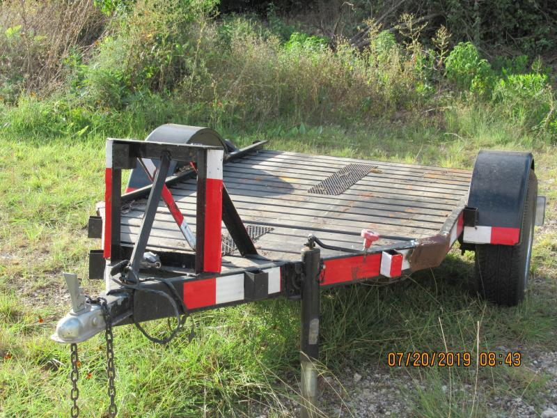 2009 Homemade 4.5x8 Motorcycle Trailer