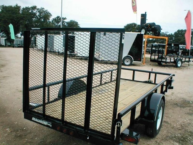 Top Hat Trailers 5X10DSP Utility Trailer
