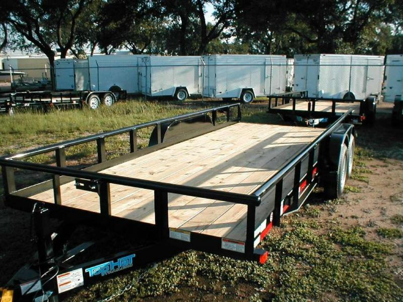 Top Hat Trailers 18HP10K Utility Trailer