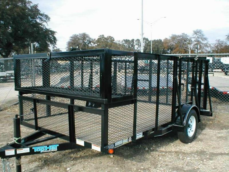 Top Hat Trailers 83X12MLS Landscape Trailer
