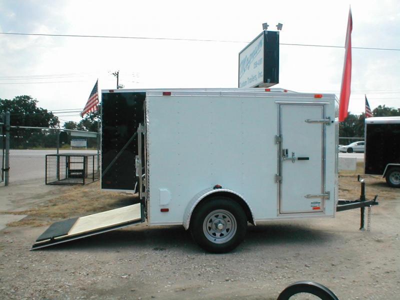 Continental Cargo VHW58SA-R Enclosed Trailer