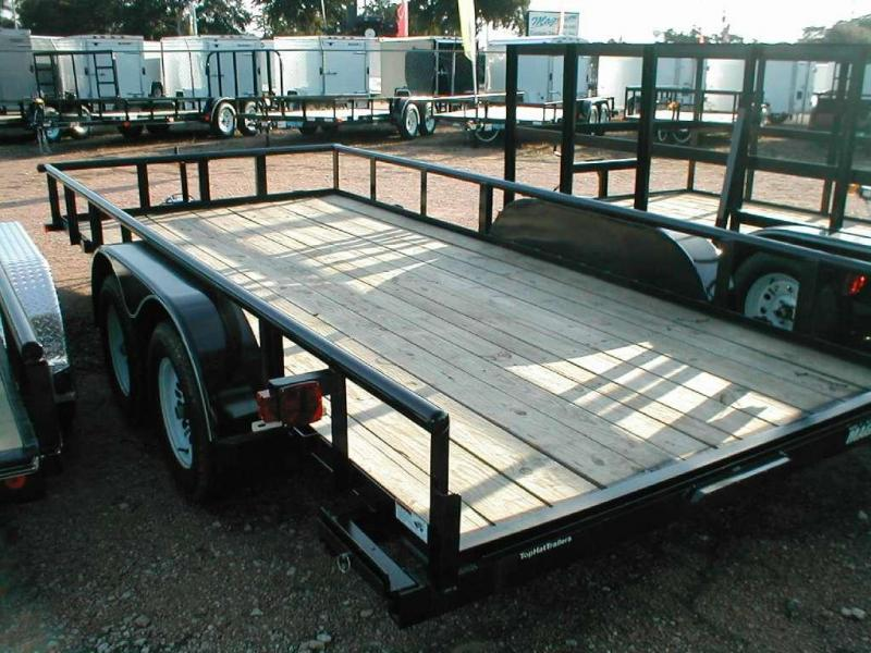 Top Hat Trailers 18MP Utility Trailer