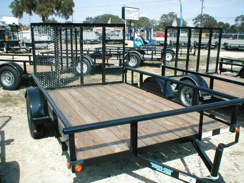 Top Hat Trailers 6.5X10DSP Utility Trailer