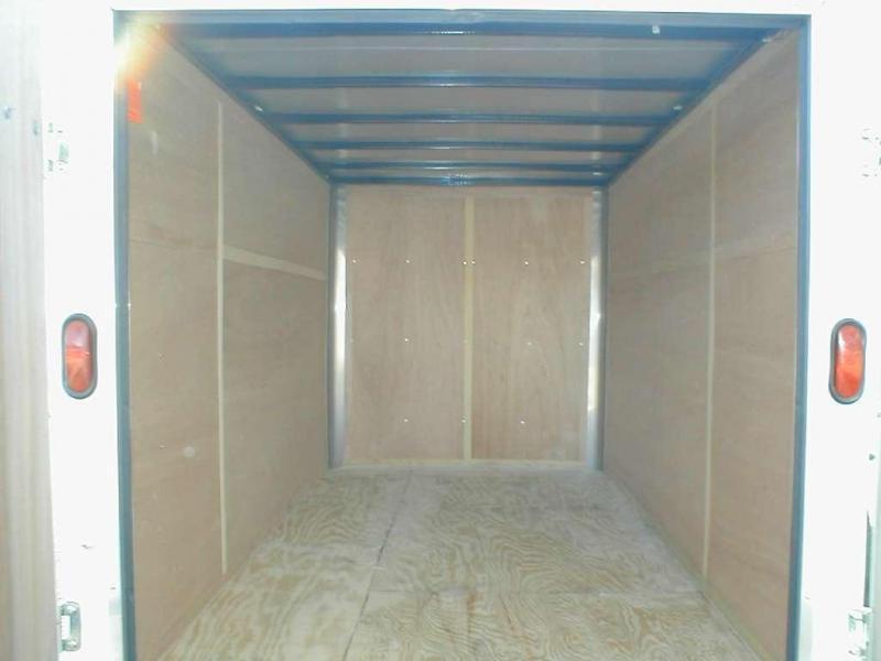 Wells Cargo SW8 Enclosed Trailer
