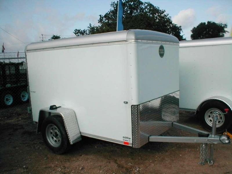 Wells Cargo SW8 Enclosed Trailer