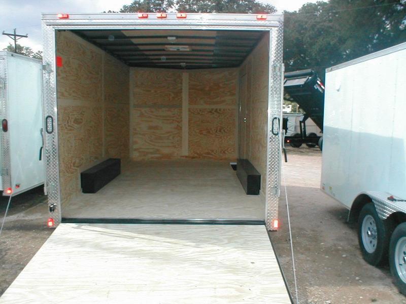 Continental Cargo VHW8520TA2-R Enclosed Trailer