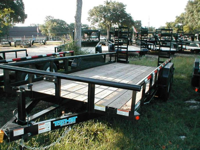 Top Hat Trailers 18LH10K Utility Trailer
