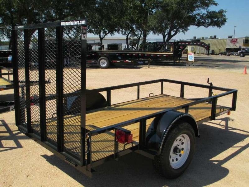 Top Hat 5x10X Utility Trailer