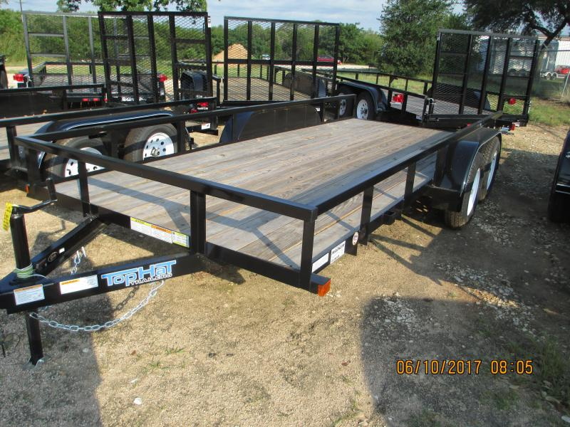 Top Hat Trailers 16LDT Utility Trailer
