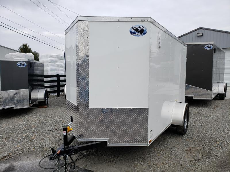 2019 Quality Cargo 6x10SA Enclosed Cargo Trailer