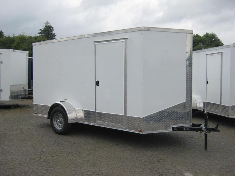 2018 Quality Cargo 6X12SA Enclosed Cargo Trailer