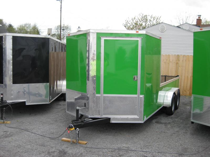 2018 Eagle Trailer 7X16TA2 Enclosed Cargo Trailer