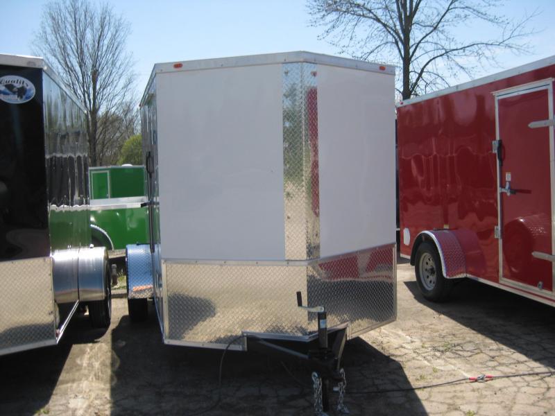2018 Eagle Trailer 6x10SA Enclosed Cargo Trailer
